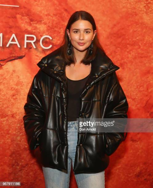 Sarah Crampton arrives for the MercedesBenz Presents Camilla And Marc show at MercedesBenz Fashion Week Resort 19 Collections at the Royal Hall of...