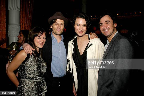 Sarah Cristobal Aaron Ward Shalom Harlow and Ashley Javier attend NICOLE MILLER's 25th Anniversary honoring Riverkeeper at Chinatown Brasserie on...