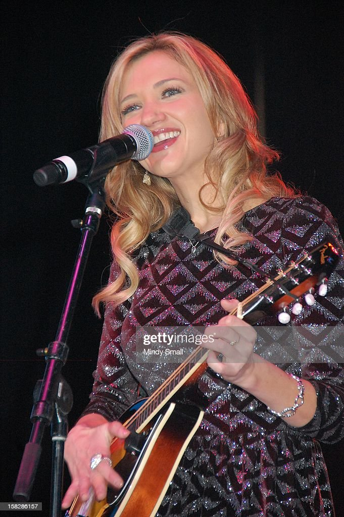 Sarah Darling performs at Cowboy FanFest during the Wrangler National Finals Rodeo at the Las Vegas Convention Center on December 12, 2012 in Las Vegas, Nevada.