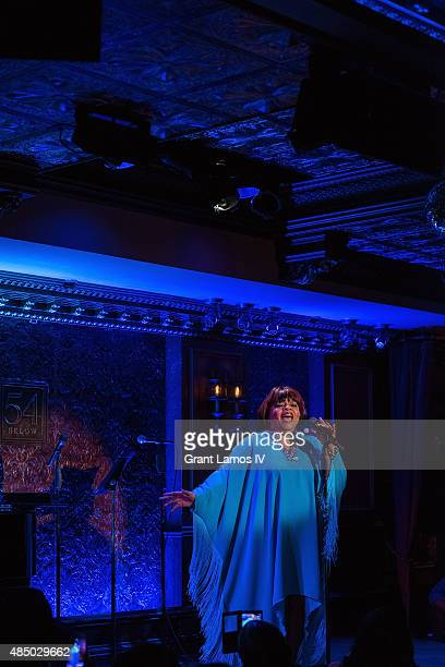 Sarah Dash attends the Sarah Dash birthday celebration at 54 Below on August 23 2015 in New York City