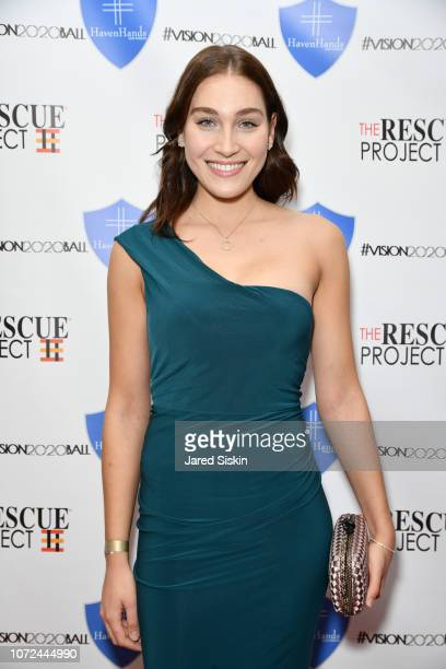 Sarah Donner attends Vision 2020 BALL By The Rescue Project / Haven Hands Inc on December 12 2018 in New York City