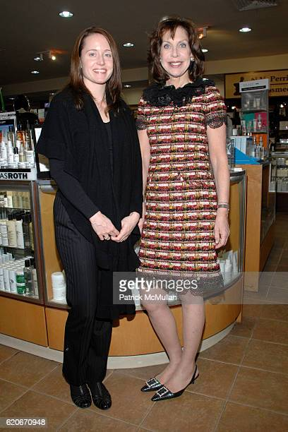 Sarah Dordel and Cheryl Lefkovits attend CLYDE'S on Madison Celebrates the Launch of their 2008 Catalog at Clyde's on Madison on January 31, 2008 in...
