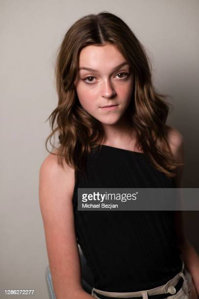 Sarah Dorothy Little poses for portrait at The Artists Project Hosts Portraits For The Premiere of Timecrafters on November 17 2020 in Los Angeles...