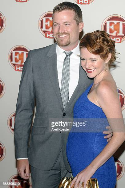 Sarah Drew and Peter Lanfer arrive to Entertainment Tonight 15th Annual Emmy Party at Vibiana's in Los Angeles Sunday evening