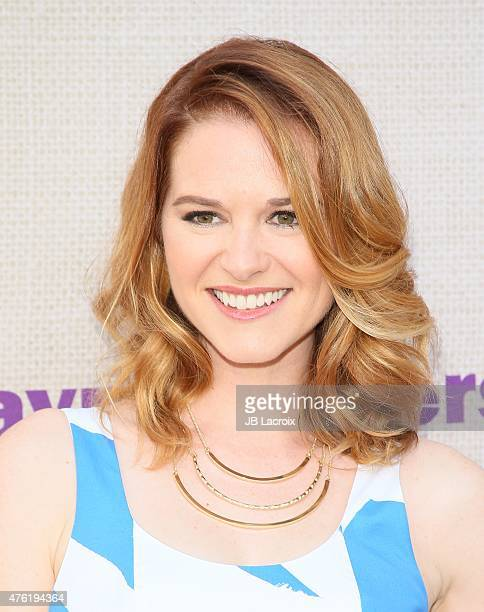 Sarah Drew attends the 14th annual Chrysalis Butterfly Ball sponsored by Audi Kayne Anderson Lauren B Beauty and Z Gallerie on June 6 2015 in Los...