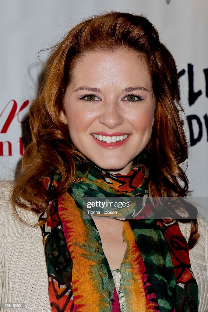Sarah Drew attends Truehearts winter wonderland charity gala, benefiting Children's Hospital Los Angeles at Avalon on December 16, 2012 in Hollywood, California.