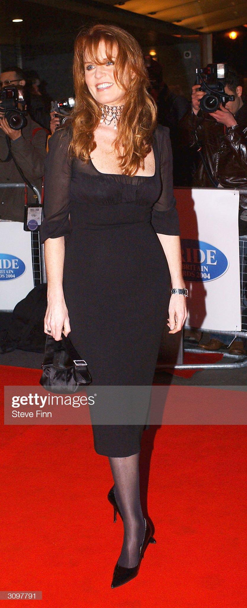 Вечерние наряды Отем пока еще Филлипс и Сары Йоркской Daily Mirror's Pride Of Britain Awards : News Photo