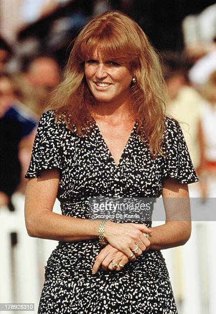 Sarah Duchess Of York attends the Paralympics opening ceremony on July 21 1990 in London England