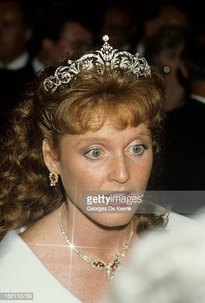 Sarah Duchess of York during a visit to Canada on July 17 1987