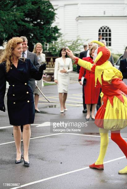 Sarah Duchess of York on June 1990 in London England