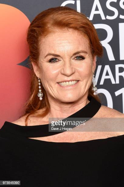 Sarah Duchess of York poses in the winners room during the 2018 Classic BRIT Awards held at Royal Albert Hall on June 13 2018 in London England