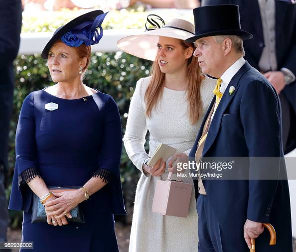 Sarah, Duchess Of York, Princess Beatrice And Prince