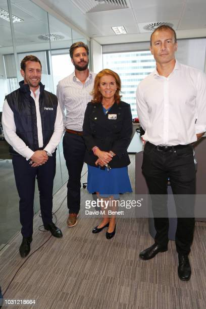 Sarah Duchess of York representing Street Child attends BGC Charity Day at One Churchill Place on September 11 2018 in London England