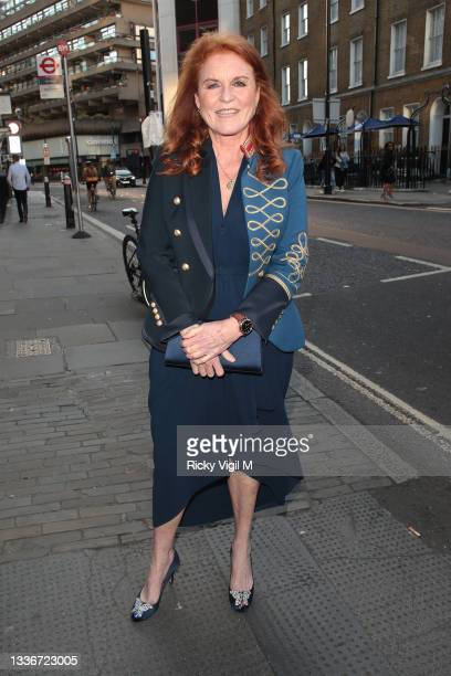 Sarah, Duchess of York seen attending the British LGBT Awards 2021 at The Brewery on August 27, 2021 in London, England.