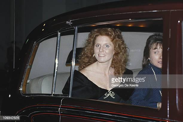 Sarah Duchess of York UK 4th February 1987