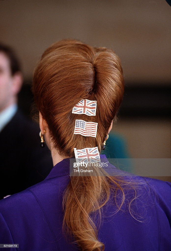 Duchess Of York Flag Decorations : News Photo