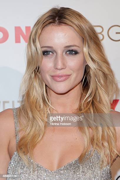 Sarah Dumont attend the Nylon Magazine May young Hollywood issue party at Tropicana Bar at The Hollywood Rooselvelt Hotel on May 8 2014 in Hollywood...