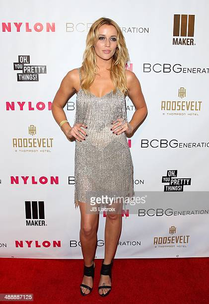 Sarah Dumont attends the Nylon Magazine May Young Hollywood Issue Party on May 8 2014 in Hollywood California