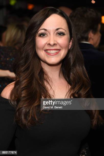 Sarah Earnshaw attends the world premiere press night performance of 'Nativity The Musical' at Eventim Apollo Hammersmith on December 14 2017 in...