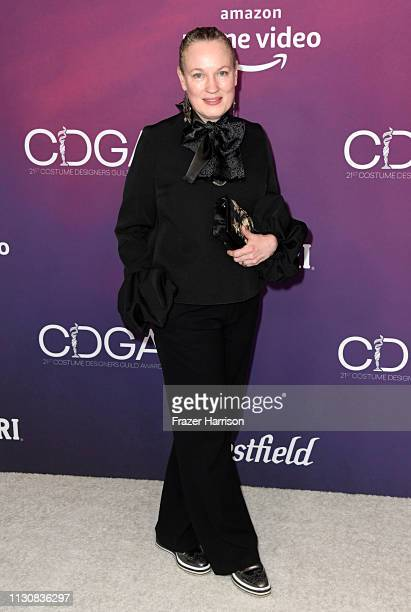 Sarah Edwards attends The 21st CDGA at The Beverly Hilton Hotel on February 19 2019 in Beverly Hills California