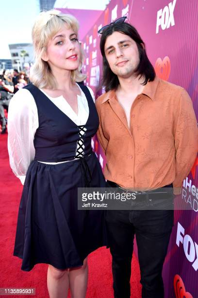 Sarah Eiseman and Andy Deluca attend the 2019 iHeartRadio Music Awards which broadcasted live on FOX at Microsoft Theater on March 14 2019 in Los...