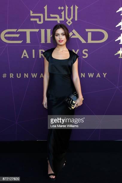 Sarah Ellen arrives at the 2017 Australian Fashion Laureate Awards on November 9 2017 in Sydney Australia
