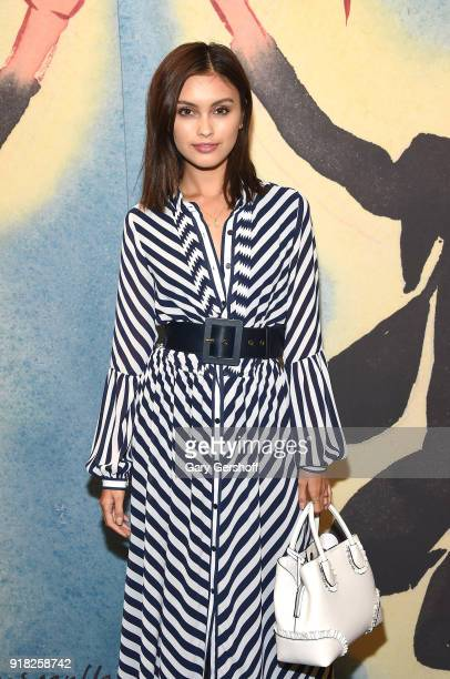 Sarah Ellen attends the Michael Kors fashion show during New York Fashion Week at Vivian Beaumont Theatre on February 14 2018 in New York City