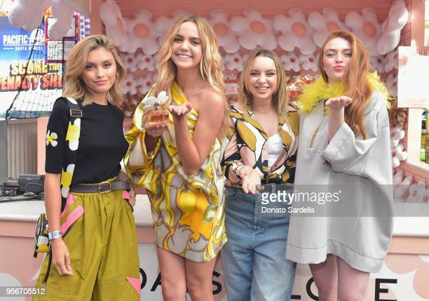 Sarah Ellen Bailee Madison Alexa Losey and Larsen Thompson attend the Marc Jacobs Fragrances Celebrates the Launch of DAISY LOVE on May 9 2018 in Los...