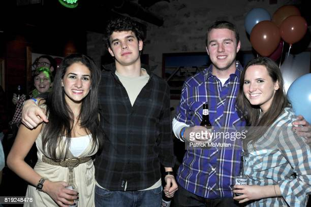 Sarah ElTamer Neil the kid Jerry and Kelly Michele Guerrotto attend ASHLEY BUSH and HANNAH FAGADAU 21st Birthday Party at Hill Country Bar B Q on...