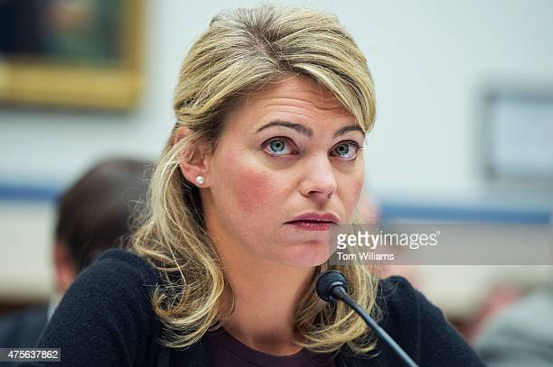 Sarah Feinberg Federal Railroad Administration Acting Administrator testifies before a House Transportation and Infrastructure Committee hearing in...