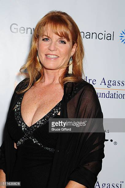 Sarah Ferguson arrives at the 13th annual Andre Agassi Charitable Foundation's Grand Slam for Children benefit concert at the Wynn Las Vegas October...