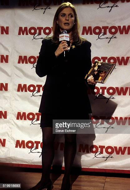 Sarah Ferguson at Dining with the Dutchess at Motown Cafe New York January 27 1998