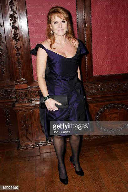 Sarah Ferguson attends the Young Victoria afterparty at Kensington Palace on March 3, 2009 in London, England.