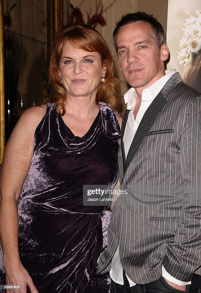 Sarah Ferguson, Duchess of York and director Jean-Marc Vallee attend the premiere of 'The Young Victoria' at Pacific Theatre at The Grove on December 3, 2009 in Los Angeles, California.