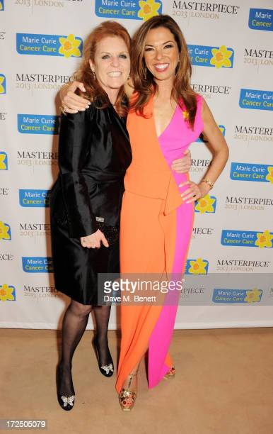 Sarah Ferguson Duchess of York and Heather Kerzner attend The Masterpiece Midsummer Party in aid of Marie Curie Cancer Care hosted by Heather Kerzner...