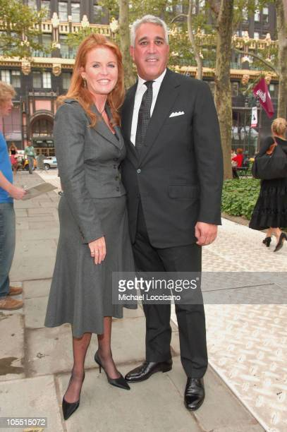 Sarah Ferguson Duchess of York and Lawrence Stroll