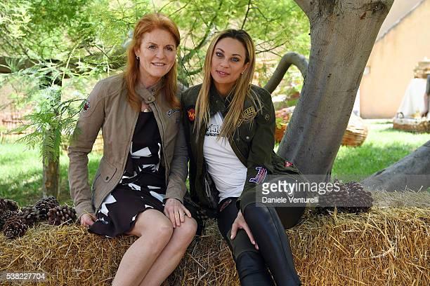 Sarah Ferguson Duchess of York and Lilly Becker attends Matchless E Bike Presentation on June 5 2016 at Casone Ugolino in Castagneto Carducci near...