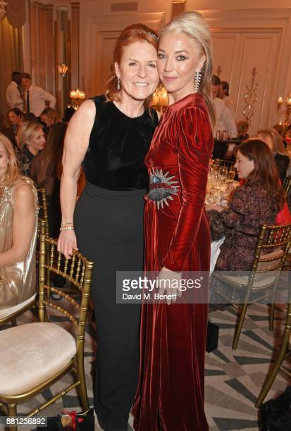 Sarah Ferguson Duchess of York and Tamara Beckwith attend the Lady Garden Gala in aid of Silent No More Gynaecological Cancer Fund and Cancer...