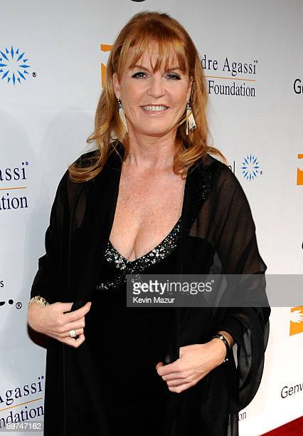 Sarah Ferguson Duchess of York arrives at the 13th Annual Andre Agassi Charitable Foundation's Grand Slam for Children benefit concert at the Wynn...