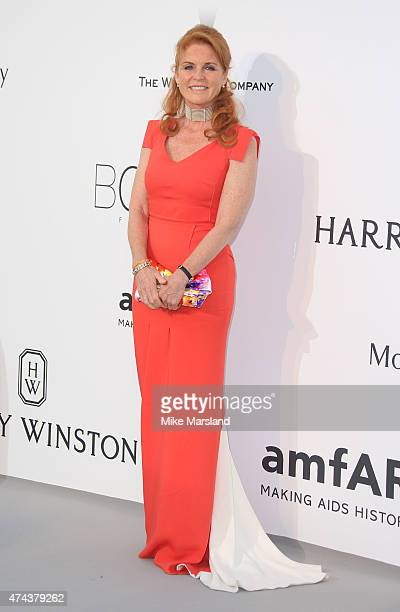 Sarah Ferguson Duchess of York attends amfAR's 22nd Cinema Against AIDS Gala Presented By Bold Films And Harry Winston at Hotel du CapEdenRoc on May...
