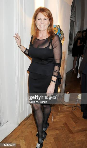 Sarah Ferguson Duchess of York attends Tamara Ecclestone's annual fundraising dinner in aid of Great Ormond Street Children's Hospital Charity at One...