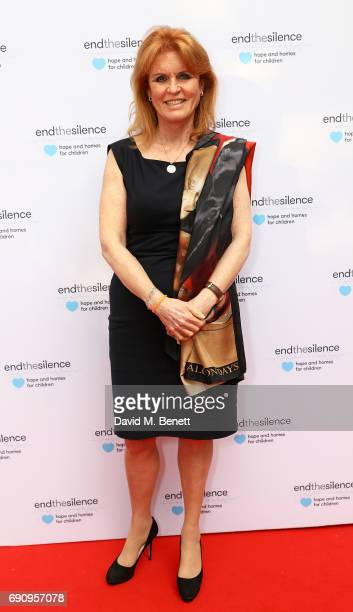 Sarah Ferguson Duchess of York attends the 50th anniversary of The Beatles SGT Pepper Album at Abbey Road Studios for End The Silence and HopeHomes...