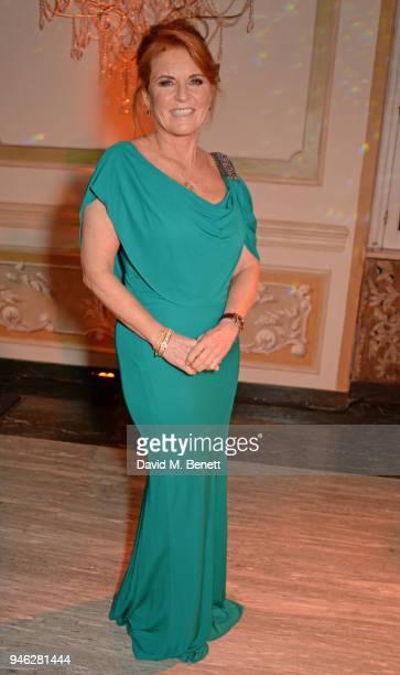 Sarah Ferguson Duchess of York attends the ABB FIA Formula E Gala Dinner hosted by Bulgari at Villa Miani on April 14 2018 in Rome Italy