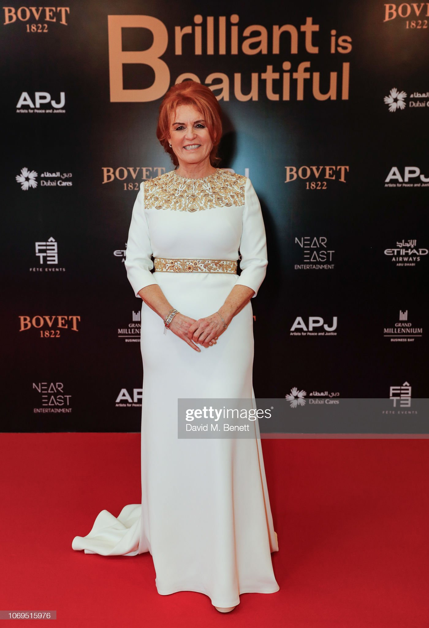 Artists For Peace And Justice & Bovet 1822 Dubai Gala : News Photo
