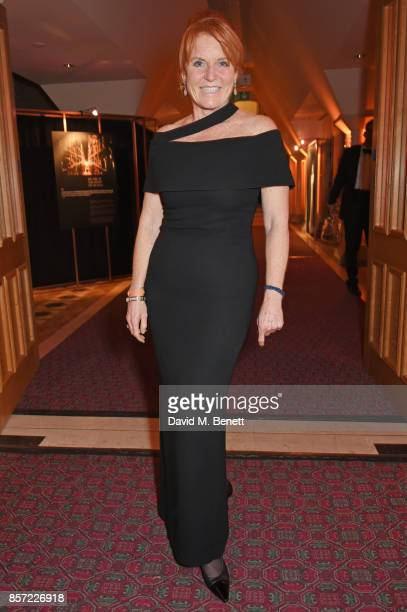 Sarah Ferguson, Duchess of York, attends the BFI and IWC Luminous Gala at The Guildhall on October 3, 2017 in London, England.