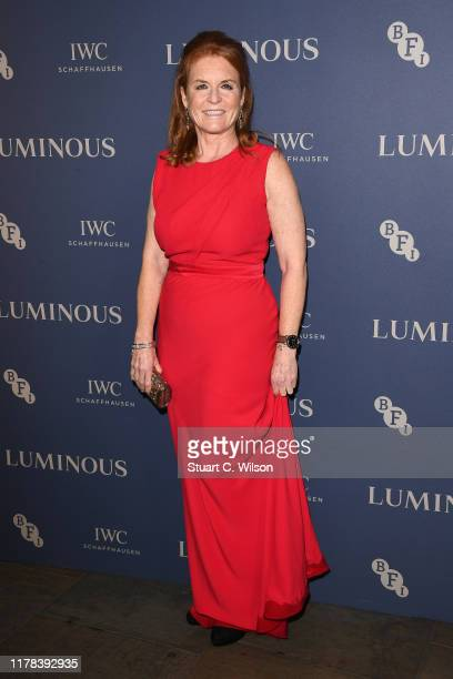 Sarah Ferguson, Duchess of York attends the BFI Luminous Fundraising Gala at The Roundhouse on October 01, 2019 in London, England.