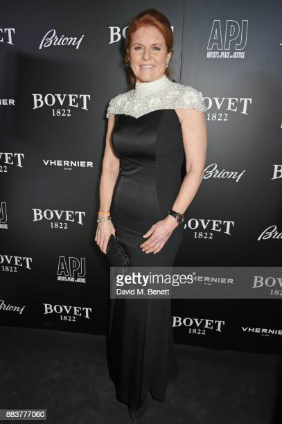 Sarah Ferguson Duchess of York attends the BOVET 1822 Brilliant is Beautiful Gala benefitting Artists for Peace and Justice's Global Education Fund...