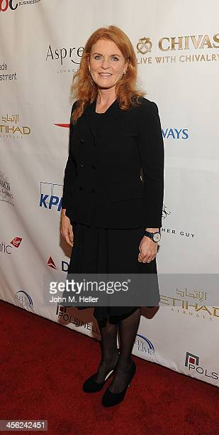 Sarah Ferguson Duchess of York attends the British American Business Council's 54th Annual Los Angeles Christmas Luncheon at the Fairmont Miramar...