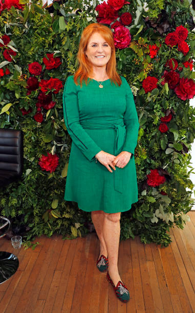 GBR: British Heart Foundation's 'Bias And Biology' Panel With Sarah Ferguson, Duchess of York
