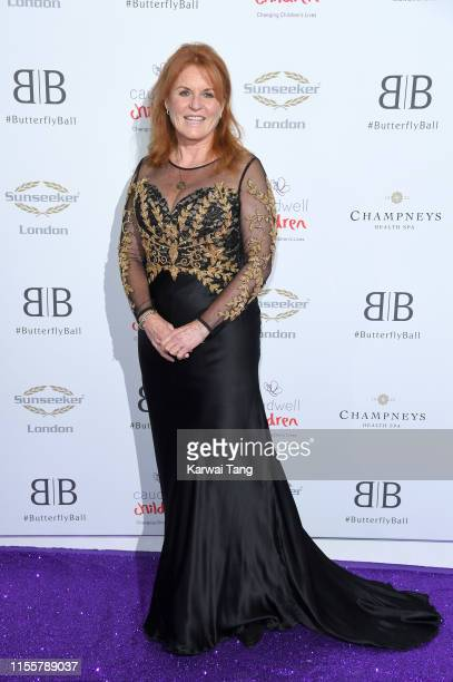 Sarah Ferguson, Duchess of York attends the Butterfly Ball 2019 at The Grosvenor House Hotel on June 13, 2019 in London, England.